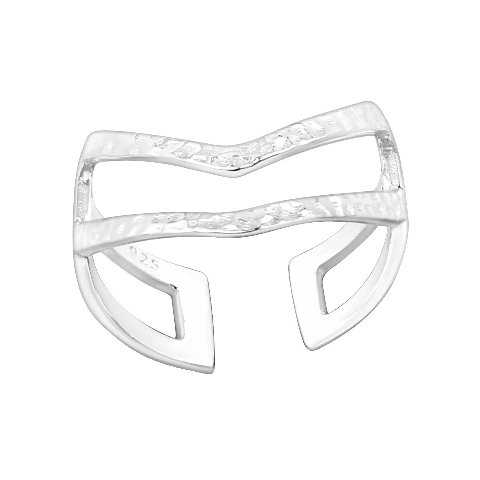 OLIVIE Strieborný prsteň NA NOHU 4015 Ag 925; ≤0,6 g.
