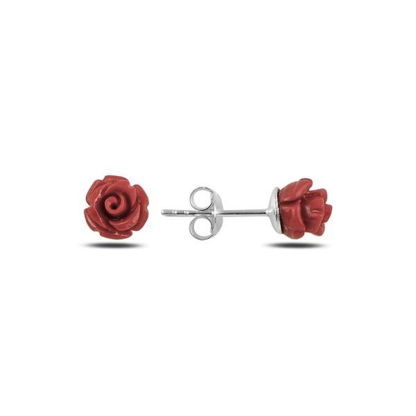 OLIVIE Strieborné náušnice ROZÁRIE 5039 Ag 925; ≤1 g.