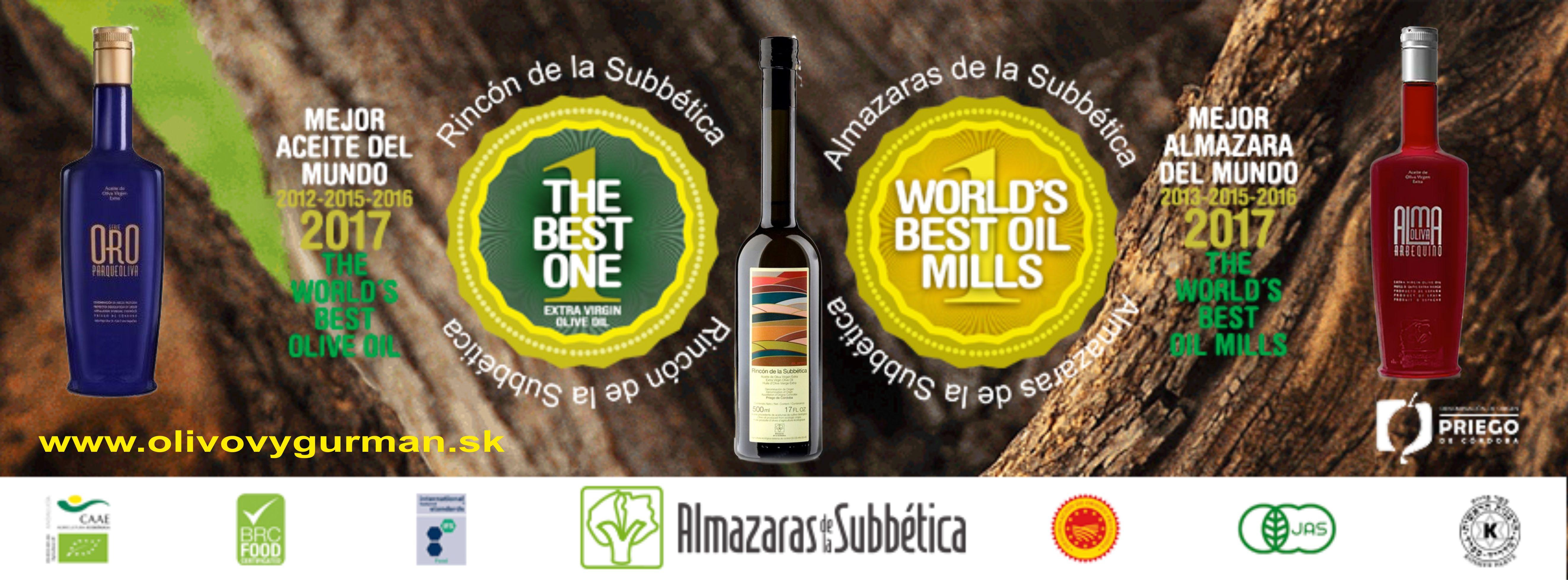 Najlepší výrobca olivových olejov na svete