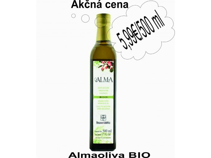 Almaoliva BIO 500 ml - akčná cena