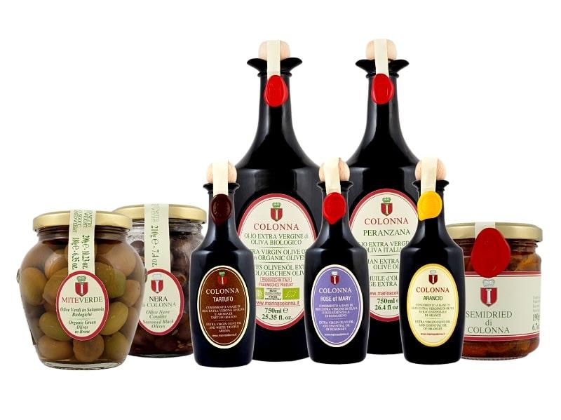 Nové produkty z farmy Marina Colonna