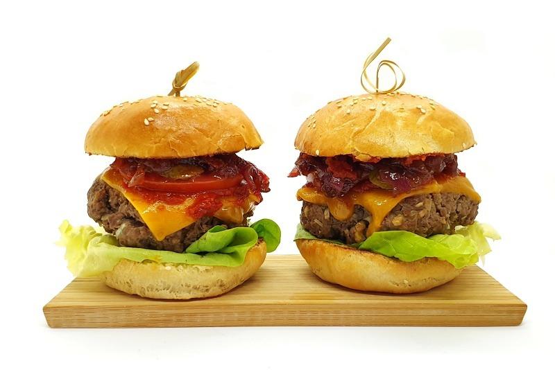 Recept na pravý hovězí hamburger krok po kroku
