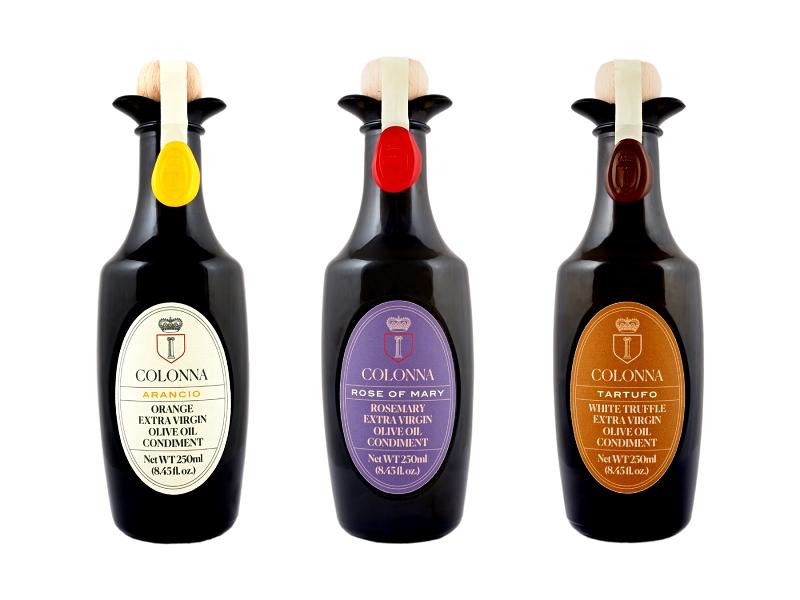 Nové prémiové olivové oleje Marina Colonna z Itálie