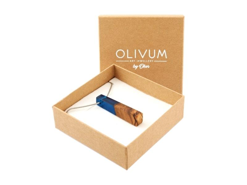 NOVINKA Šperky z olivového dřeva