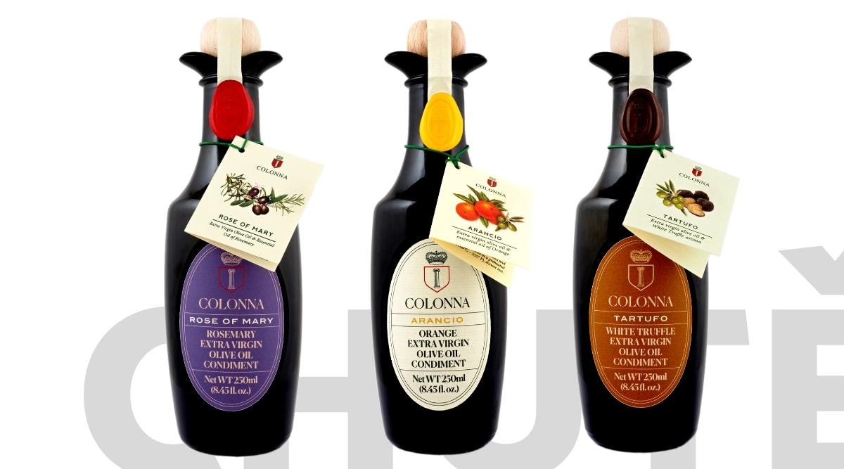Ochucené olivové oleje Marina Colonna