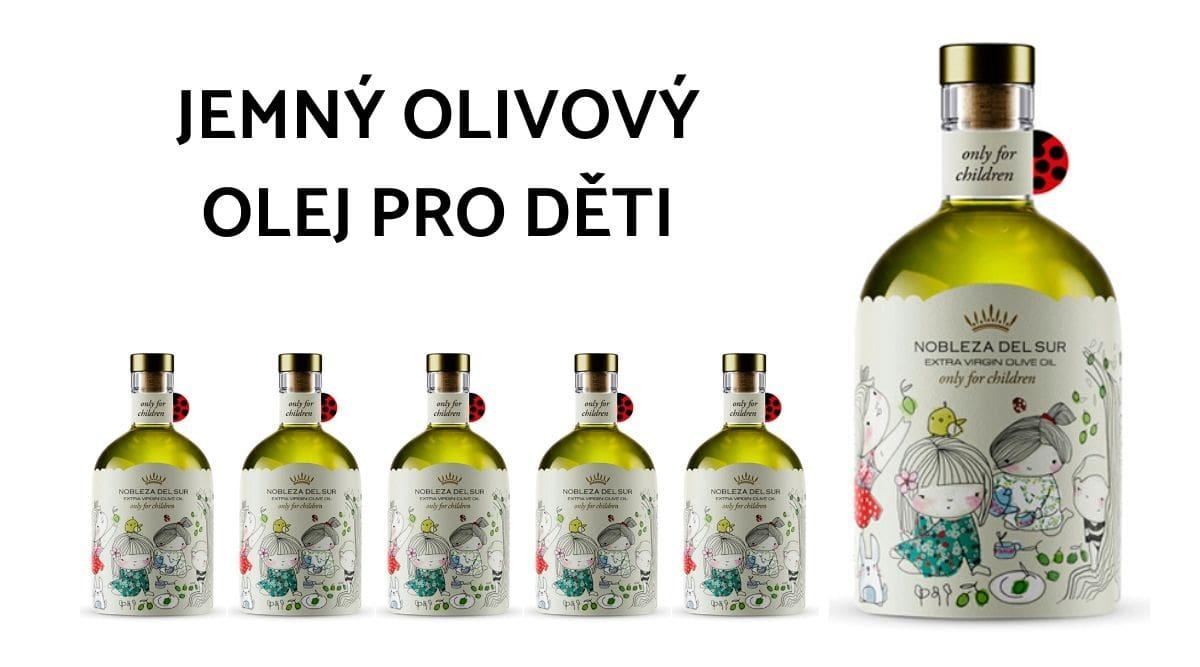 Jemný olivový olej Nobleza del Sur pro děti