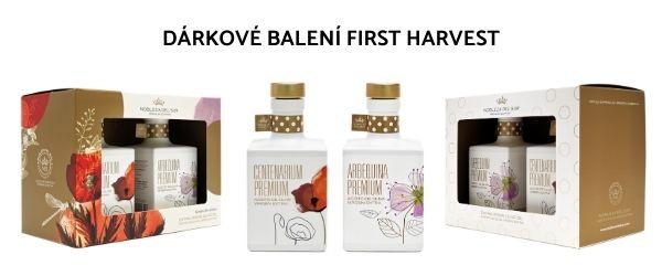 Elegantní dárkové balní Nobleza del Sur First Harvest a First Harvest Deluxe