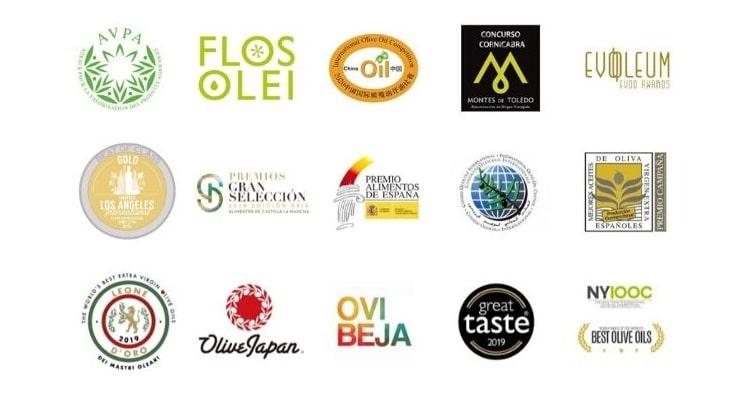 Casas de Hualdo získává každoročně celou řadu ocenění a medailí na prestižních mezinárodních soutěžích
