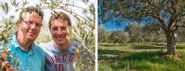 Bratři Sandi a Tedi Chiavalon z rodinné farmy na chorvatské Istrii
