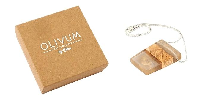 Šperky z olivového dřeva jako elegantní dárek