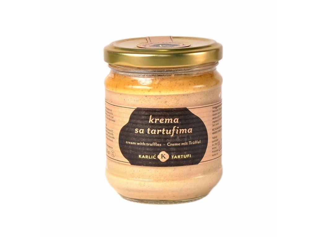 Karlić - Krém s lanýži (Crema sa tartufima)