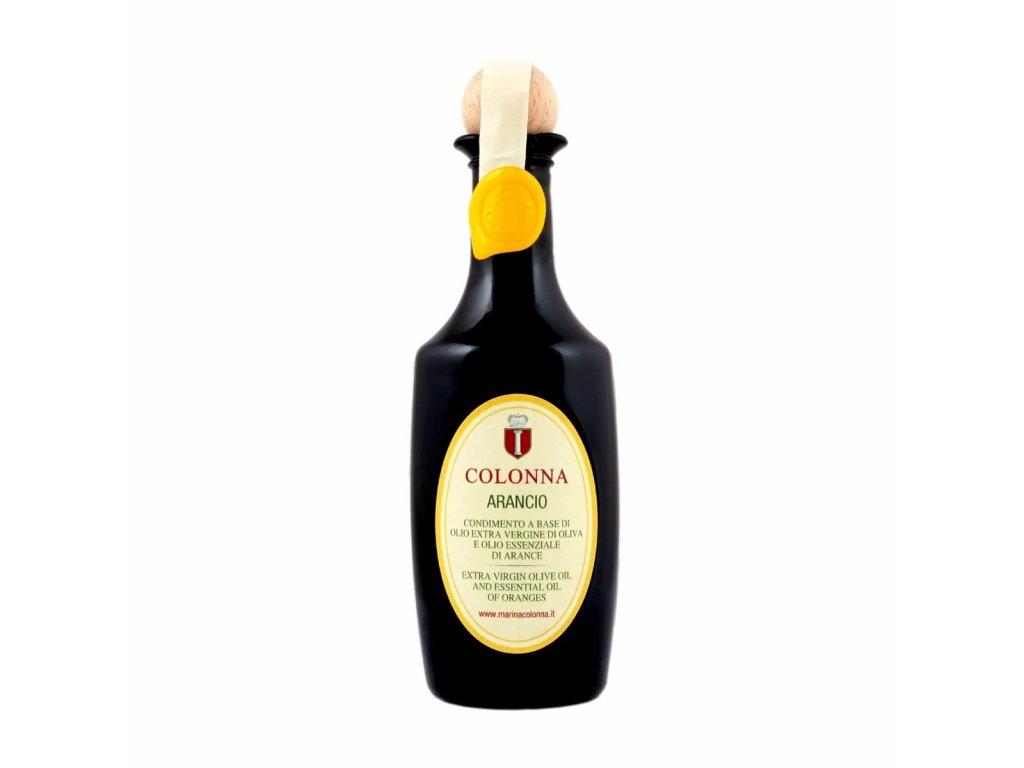 Extra panenský olivový olej Marina Colonna Arancio 100 ml s příchutí pomerančů