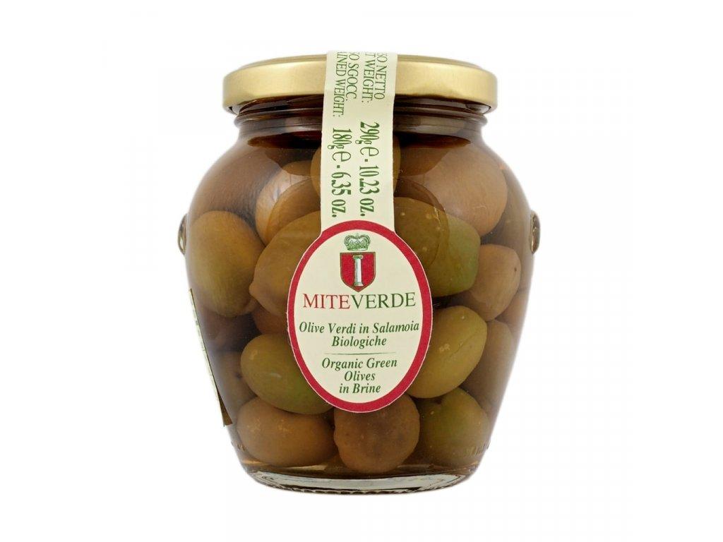 Nakládané zelené olivy Marina Colonna Miteverde 180 g