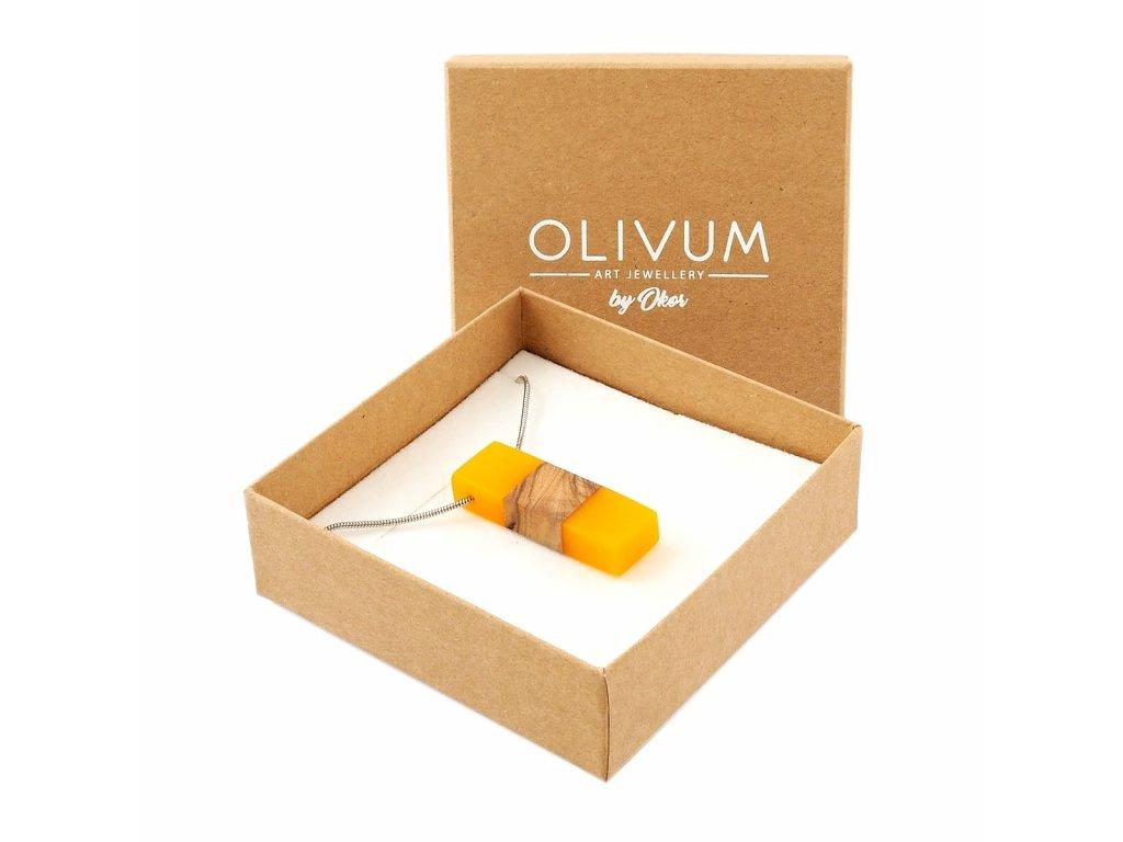Olivový šperk Celeste No. 9