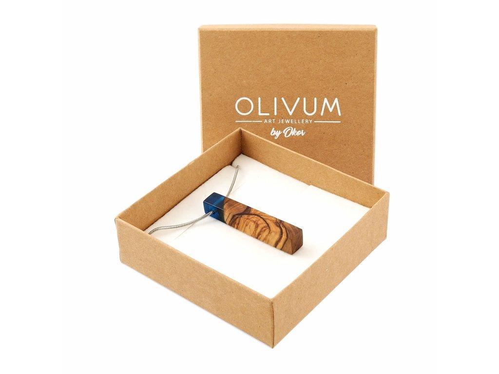 Olivový šperk Celeste No. 10