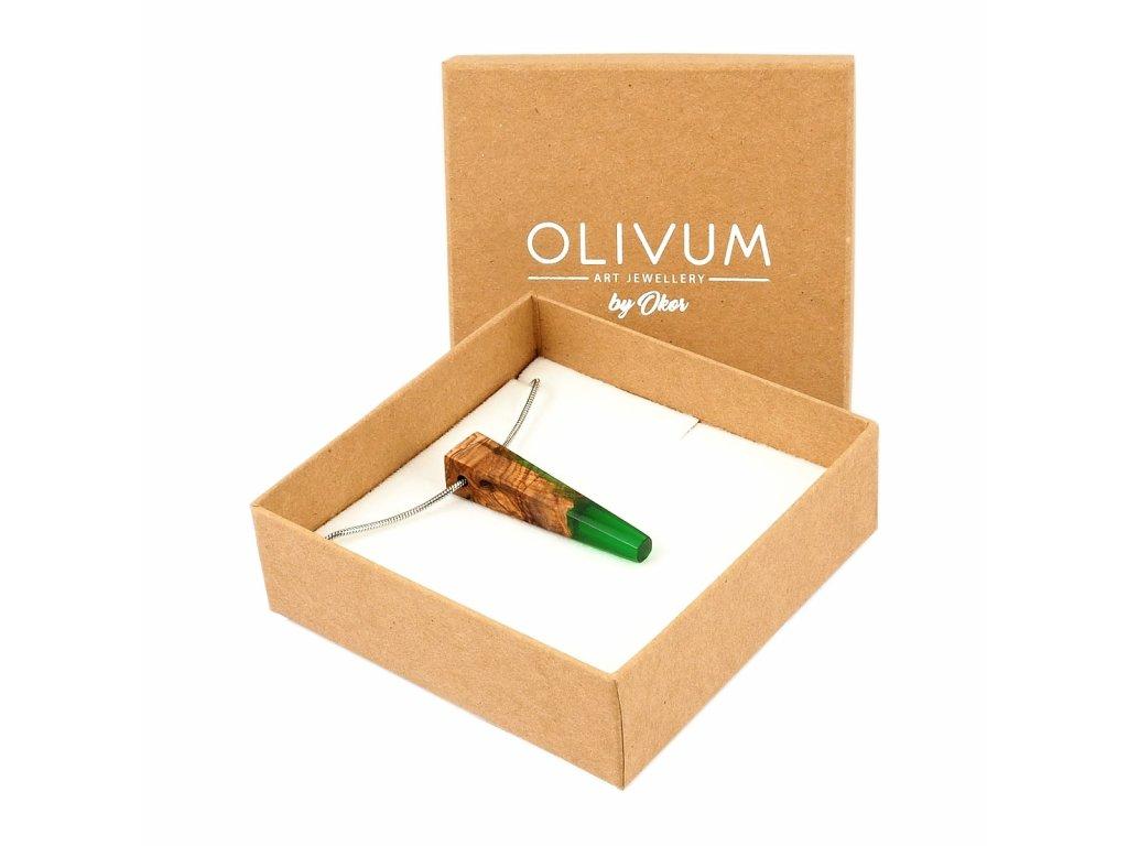 Olivový šperk Celeste No. 11