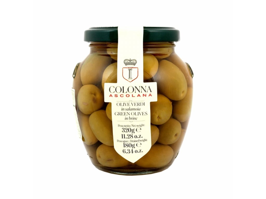Zelené nakládané olivy Marina Colonna Ascolana