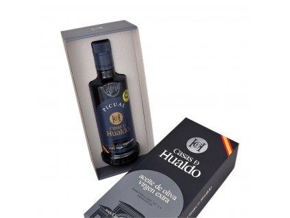 Prémiový extra panenský olivový olej Casas de Hualdo Picual 500ml v dárkovém balení