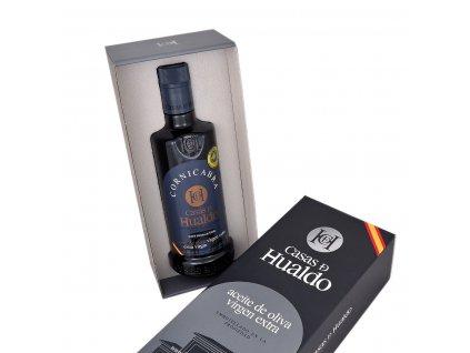 Prémiový extra panenský olivový olej Casas de Hualdo Cornicabra 500ml v dárkovém balení