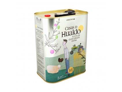 Casas de Hualdo extra panenský olivový olej Armoía 3 litry v plechu