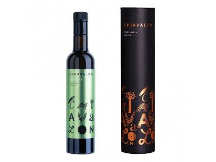 Chiavalon Romano - prémiový olivový olej v černé dárkové tubě