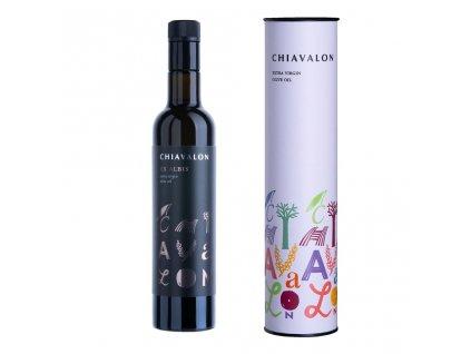 Chiavalon Ex Albis - prémiový olivový olej v bílé dárkové tubě