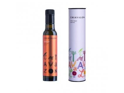 Chiavalon Atilio - prémiový olivový olej v bílé dárkové tubě