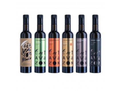 Chiavalon Istra - prémiový olivový olej v černé dárkové tubě