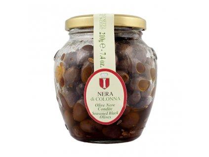 Nakládané černé olivy Nero di Colonna 210 g