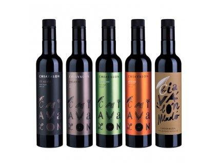 Chiavalon Romano - prémiový olivový olej v bílé dárkové tubě