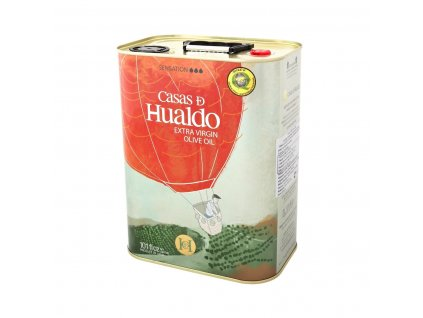 Extra panenský olivový olej Casas de Hualdo Sensación