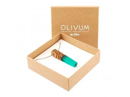 Olivový šperk Celeste No. 3