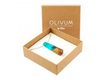 Olivový šperk Celeste No. 6
