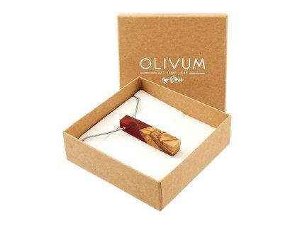 Olivový šperk Celeste No. 7