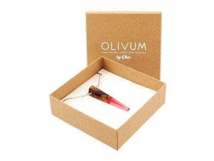 Olivový šperk Celeste No. 12
