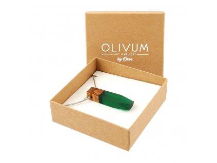 Olivový šperk Diamond No. 2