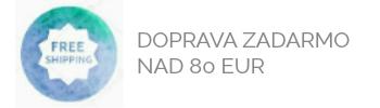 Doprava zadarmo nad 80 EUR