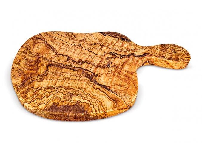 Steaková doska z olivového dreva