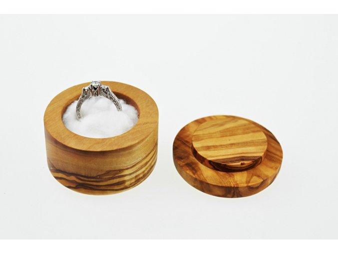 Drevená krabička na prsteň 01