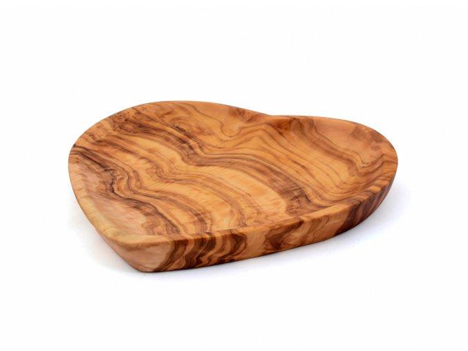 Drevená miska Sdrce 20 cm