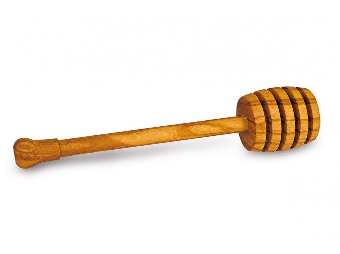 Drevená lyžička na med z olivového dreva
