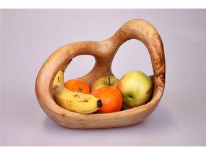 Drevený kôš na ovocie 07