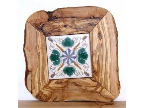 Podložka drevo+keramika 46