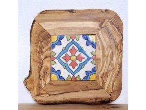 Podložka drevo keramika 01