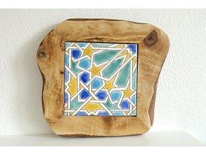 Podložka drevo+keramika 41