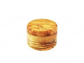 Drevená krabička z olivového dreva 01
