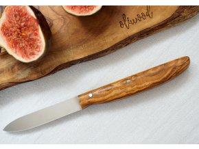 Nožík z olivového dreva 01