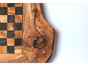 Drevený šach rustikálny 02