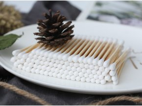 Bambusové vatové tyčinky Curanatura 01