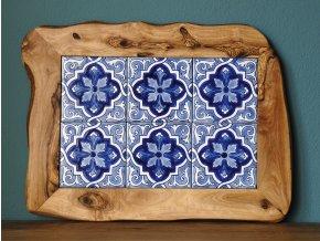 Podložka drevo keramika veľká 08
